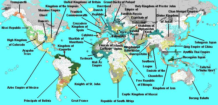 Current World Map ThroneWorld - Current world map